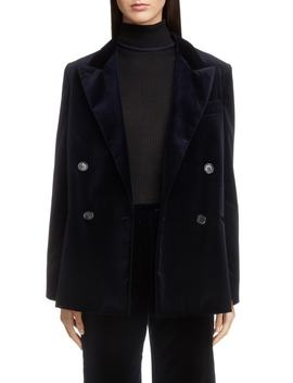 Double Breasted Velvet Jacket by Acne Studios