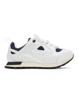White Security Runner Sneakers by Maison Margiela