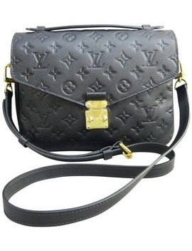 Pochette Empreinte Metis Black Calfskin Leather Satchel by Louis Vuitton