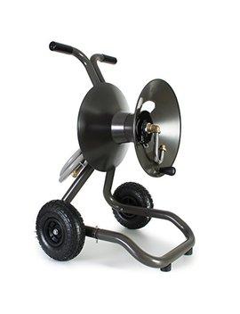 Eley / Rapid Reel Two Wheel Garden Hose Reel Cart Model #1043 by Rapid Reel
