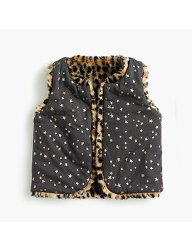 Girls' Reversible Faux Fur Vest by J.Crew