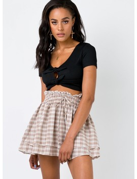 Crowd Of Angels Mini Skirt by Princess Polly