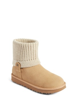 Saela Rib Knit Cuff Boot by Ugg