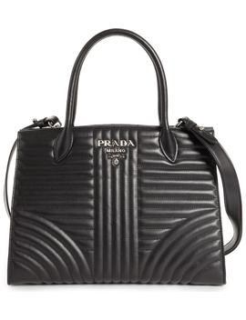Quilted Tote by Prada
