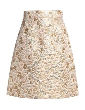 Brocade Skirt by Dolce & Gabbana