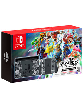 Nintendo Switch Super Smash Bros Ultimate Bundle by Nintendo