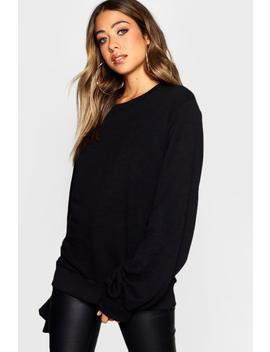 Balloon Sleeve Sweat by Boohoo