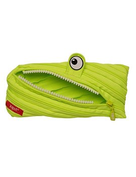 Zipit Monster Pencil Case, Lime by Zipit