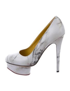 Charlotte Olympia Dolly Leather Pumps W/ Tags by Charlotte Olympia