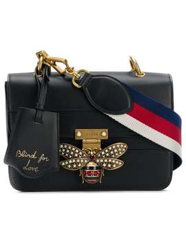 Bee Logo Embellished Bag by Gucci