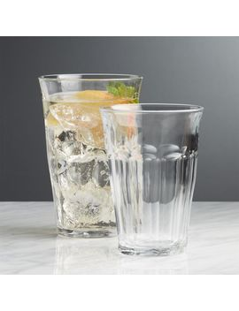 Duralex Picardie Glasses by Crate&Barrel