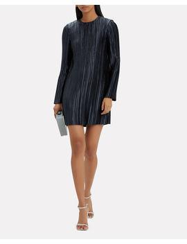 Pleated Mini Dress by Tibi