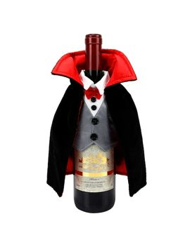 Celebrate Halloween Together Dracula Wine Bottle Cover by Kohl's