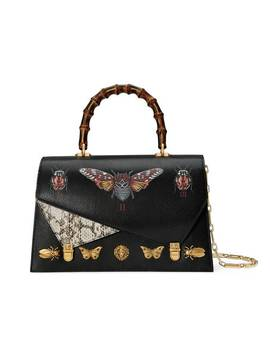 Ottilia Leather Top Handle Bag by Gucci