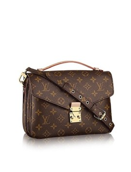 Pochette Monogram Metis 2way 2lz1012 Brown Coated Canvas Cross Body Bag by Louis Vuitton