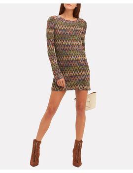 Chevron Mini Dress by Missoni