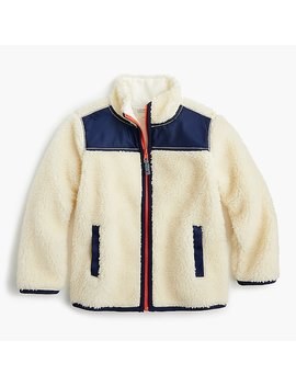 Kids' Sherpa Jacket by J.Crew
