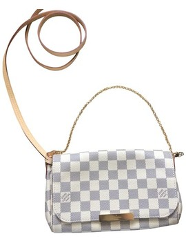 Favorite Pm Damier Azur (Sold Out Everywhere ) Cross Body Bag by Louis Vuitton