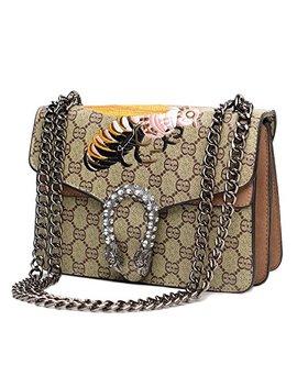 Vintga Cross Body Bag For Womens Handbag Single Shoulder Bag Purse Messager Bags by Vintga