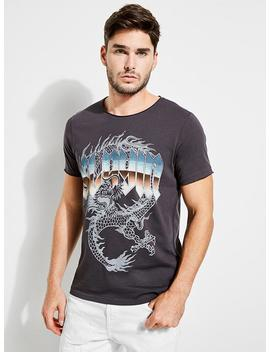 Wild Wolves Graphic Tee by Guess