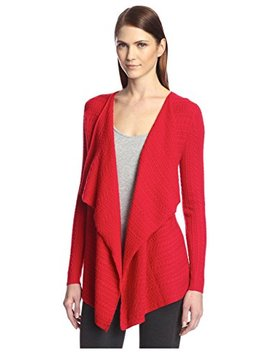 Society New York Women's Cable Cascade Cardigan by Society New York