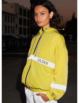 Danica Anorak 02   Reflective, '90s Track Jacket by Golden By Tna