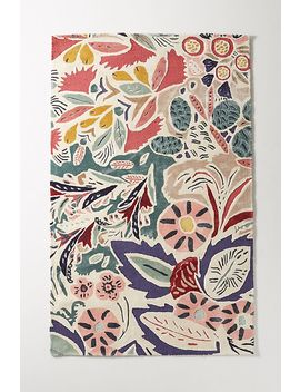 Antonia Viscose Rug by Anthropologie