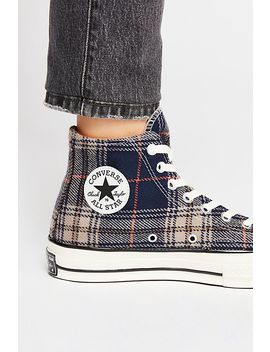 Plaid Hi Top Chuck by Free People