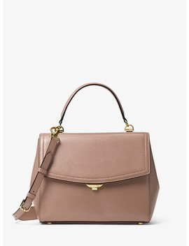 Ava Medium Leather Satchel by Michael Michael Kors