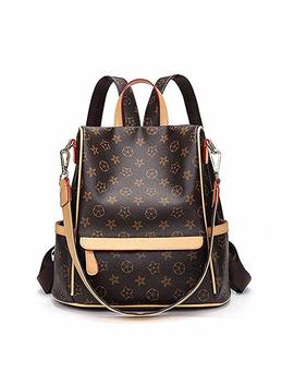 Olyphy Fashion Backpack Purse For Women, Fashion Pu Leather Shoulder Bags Handbag by Olyphy