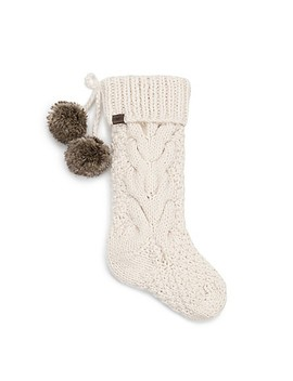 Ugg Cable Knit Stocking In Snow by Bed Bath And Beyond