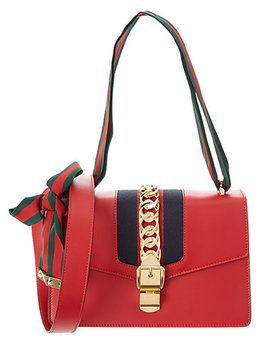 Gucci Small Sylvie Leather Satchel by Gucci