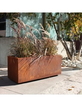 Veradek Metallic Series Corten Steel Planter Box & Reviews by Veradek