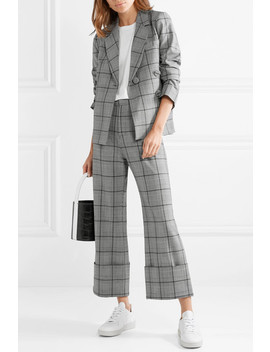 Bacall Checked Woven Blazer by Sea