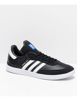 Adidas Samba Adv Black & White Shoes by Adidas