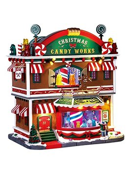 Lemax Christmas Candy Works Village Building Multicolored Resin 1 Pk by Lemax