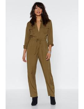 Drawn Together Utility Jumpsuit by Nasty Gal