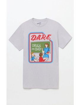 D.A.R.E. Retro T Shirt by Pacsun