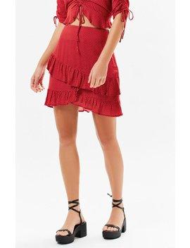 Lost + Wander Ay Caramba Ruffle Skirt by Pacsun