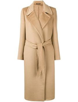 Belted Coat by Tagliatore