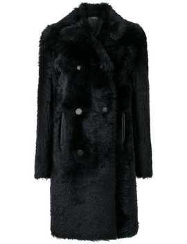 Fur Trim Coat by Joseph