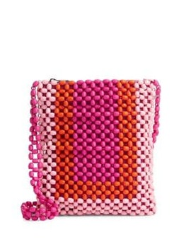 Beaded Crossbody Bag by Topshop