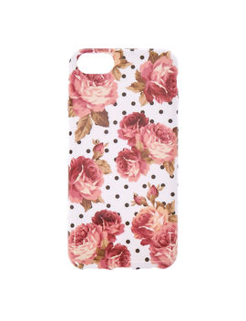 Floral & Polka Dot Phone Case by Claire's
