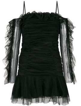 Netted Tulle Ruched Dress by Alice Mccall