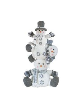 "Holiday Stack Of Snowman 22"" Floor Decor by Kohl's"
