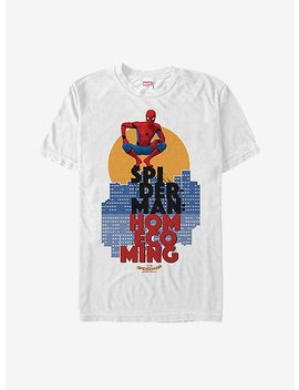 Marvel Spider Man Homecoming City T Shirt by Hot Topic