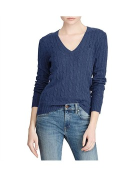 Kimberly Classic Long Sleeve Sweater by Polo Ralph Lauren