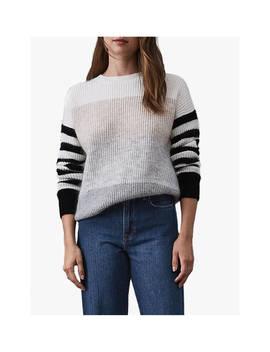 Reiss Haidee Stripe Cardigan, Multi by Reiss