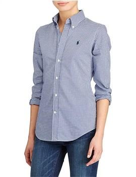 Kendal Slim Long Sleeve Shirt by Polo Ralph Lauren