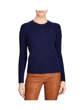 Julianna Classic Long Sleeve Sweater by Polo Ralph Lauren